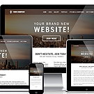 website template features