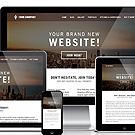 website template features