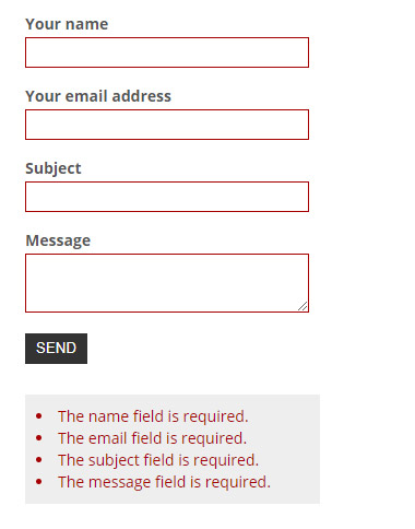 How to create a contact form in Laravel with Google